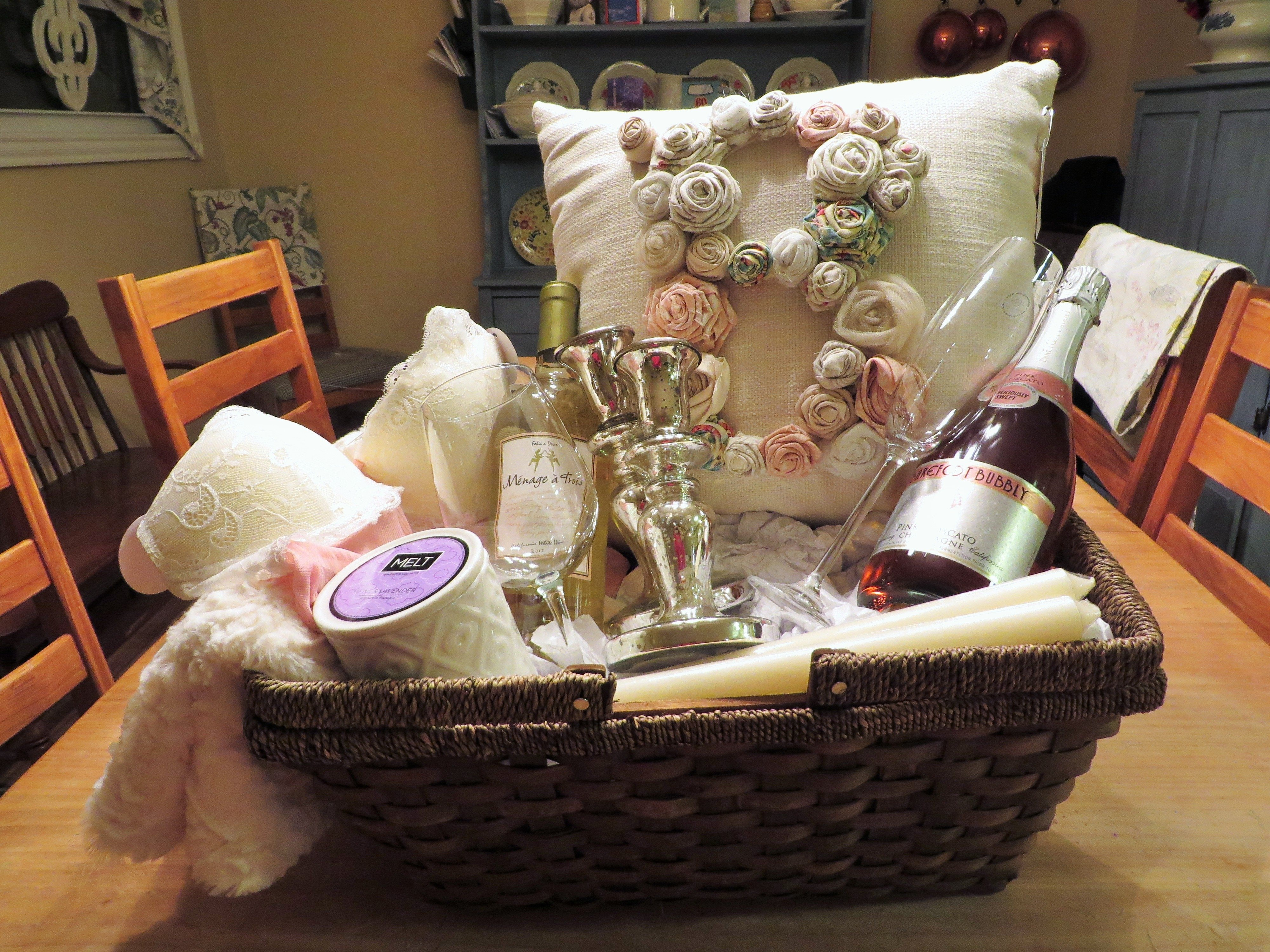 10 Most Recommended Ideas For A Bridal Shower Gift creative gift ideas for wedding shower unique bridal shower t basket 2020