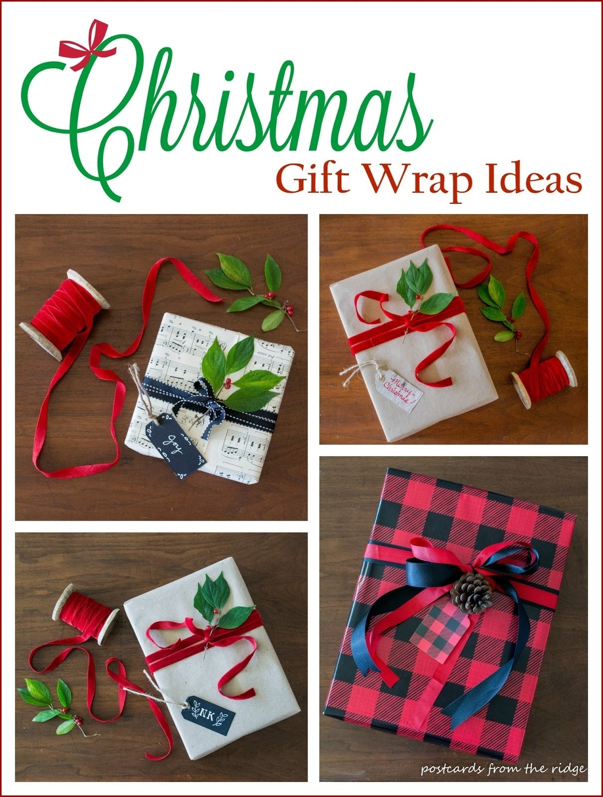 10 Ideal Ideas For Wrapping Gift Cards creative gift wrap ideas postcards from the ridge 2020