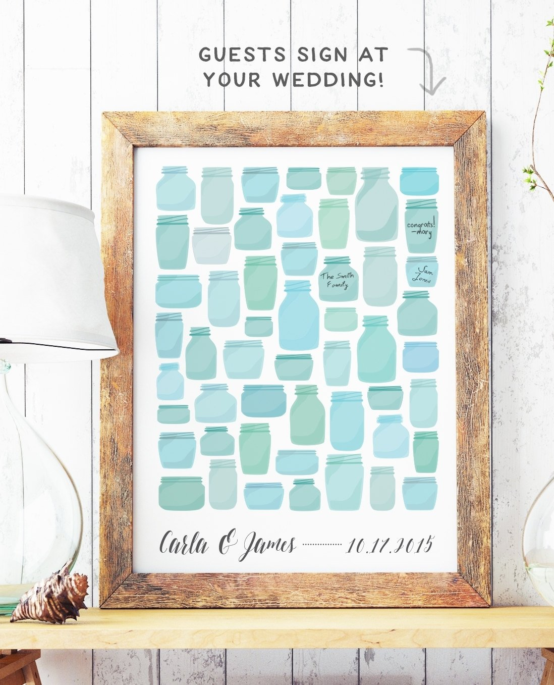 10 Most Recommended Alternative Wedding Guest Book Ideas creative guest book alternatives from etsy the budget savvy bride