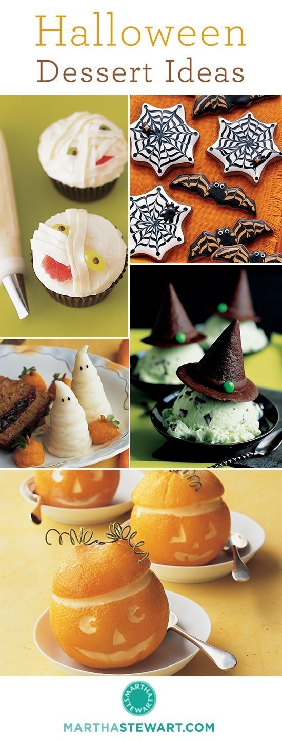 10 Spectacular Martha Stewart Halloween Food Ideas creative halloween dessert ideas http www marthastewart 2021