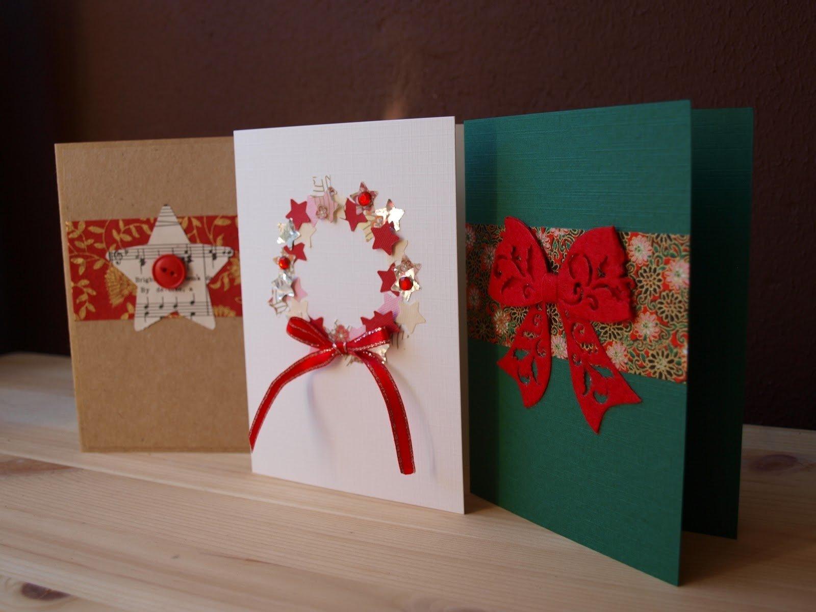 10 Pretty Ideas For Homemade Christmas Cards creative homemade christmas card ideas diy cards dma homes 54480 2020