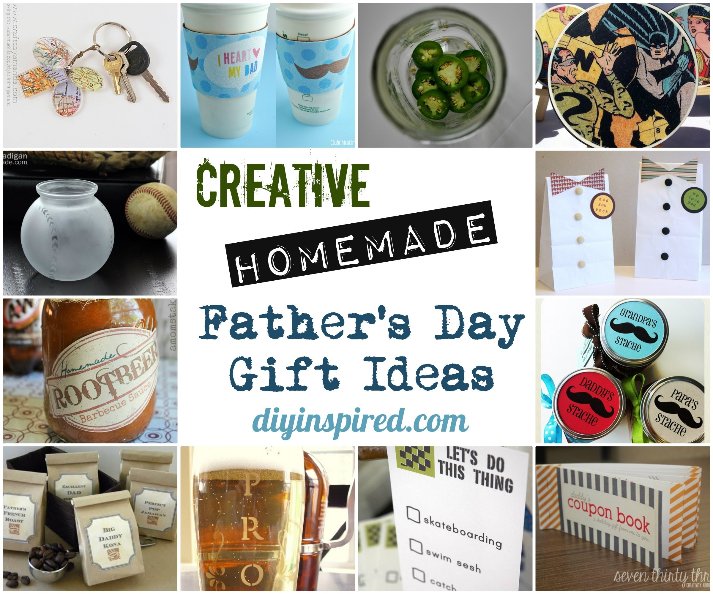 creative homemade father's day gift ideas - diy inspired