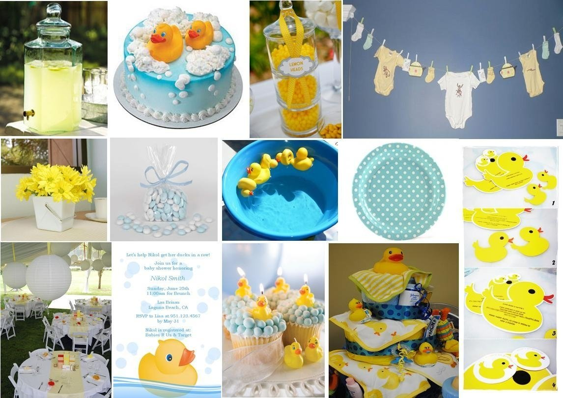 10 Stylish Rubber Ducky Baby Shower Ideas creative ideas rubber ducky baby shower favors cool design diy