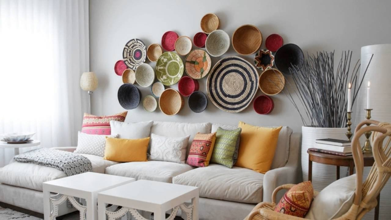 creative living room wall decor ideas - youtube