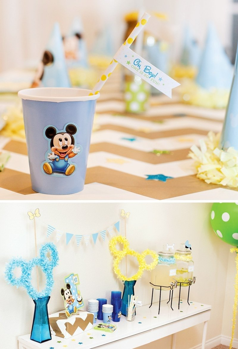 10 Famous Mickey Mouse First Birthday Party Ideas creative mickey mouse 1st birthday party ideas free printables 16