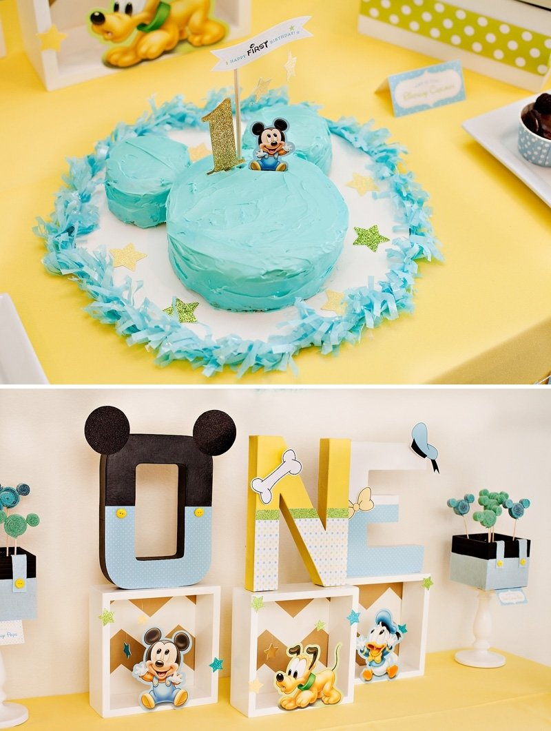 10 Trendy Baby Boy 1St Birthday Ideas creative mickey mouse 1st birthday party ideas free printables 18 2021