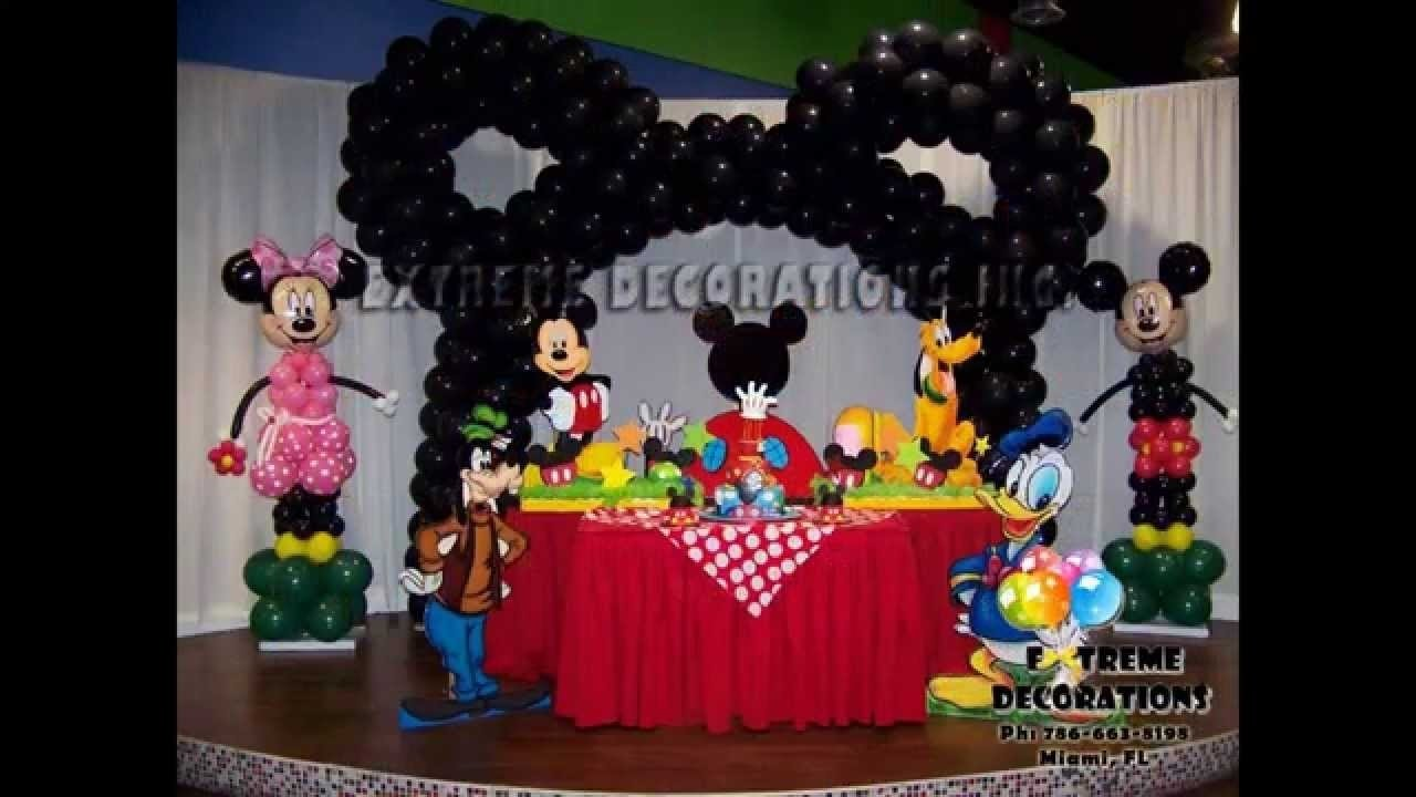 creative mickey mouse clubhouse birthday party decorations ideas