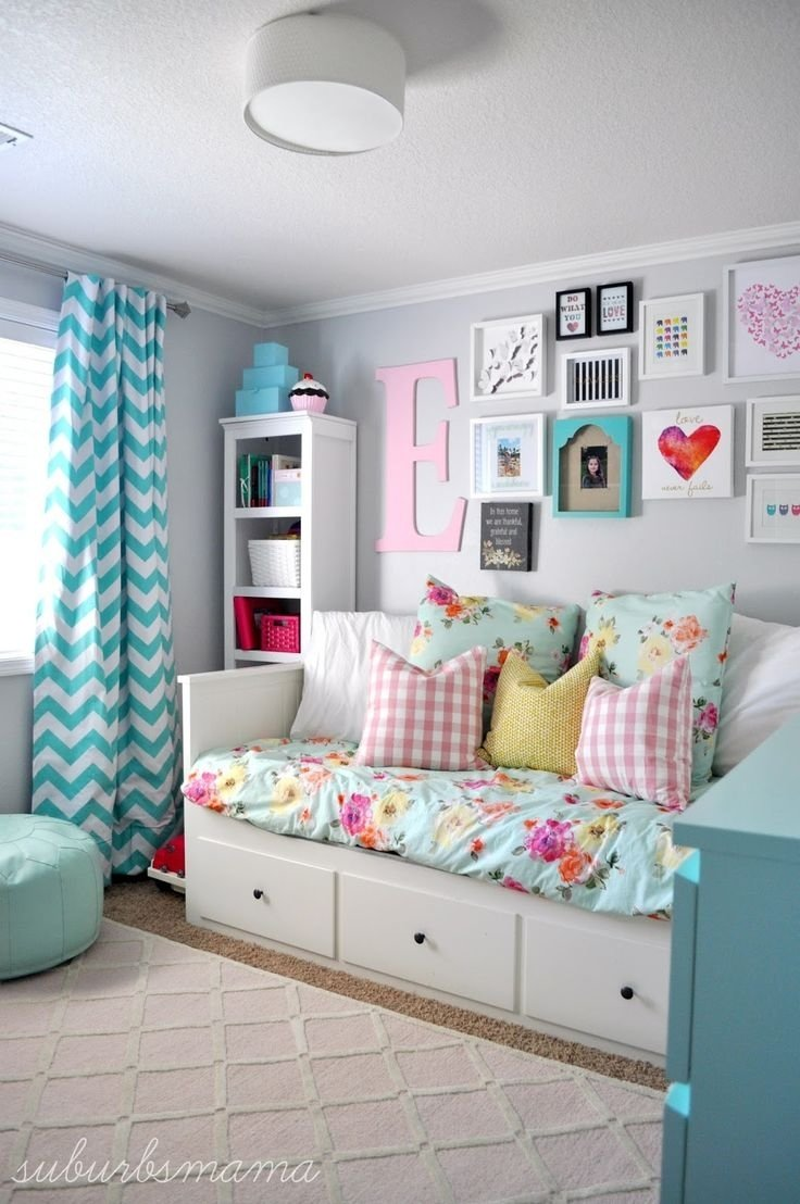 creative of girls bedroom decorating ideas for house design plan