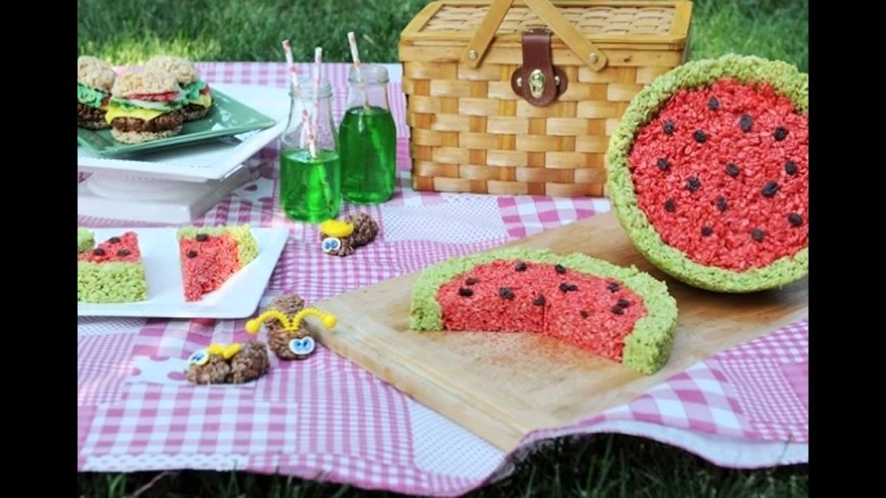 10 Perfect Food Ideas For A Picnic creative picnic food ideas for kids youtube 1 2020