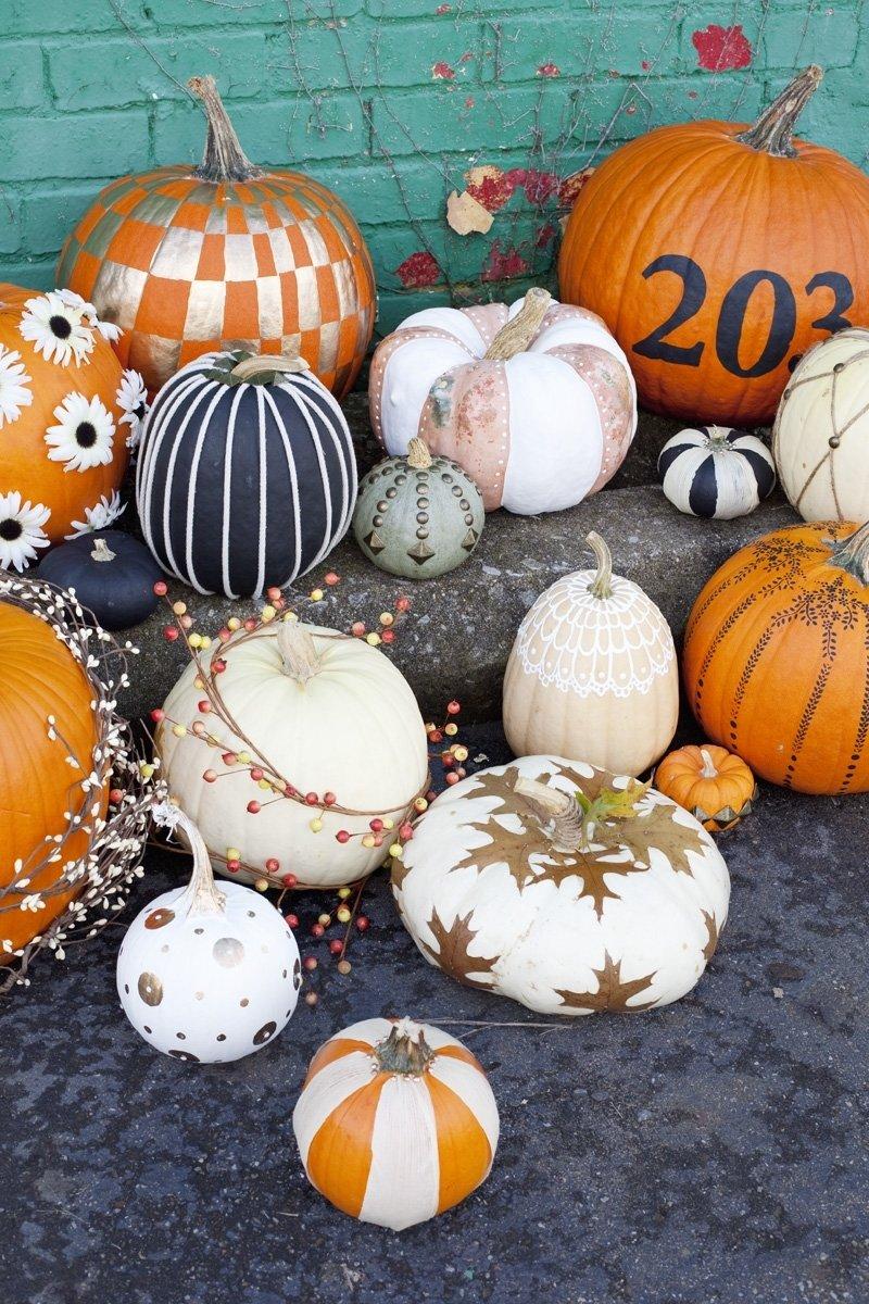 10 Fashionable Creative Pumpkin Ideas No Carving creative pumpkin decorating ideas without carving my web value 2020