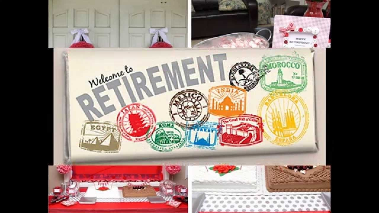 10 Most Recommended Ideas For A Retirement Party creative retirement party decorations youtube 2020