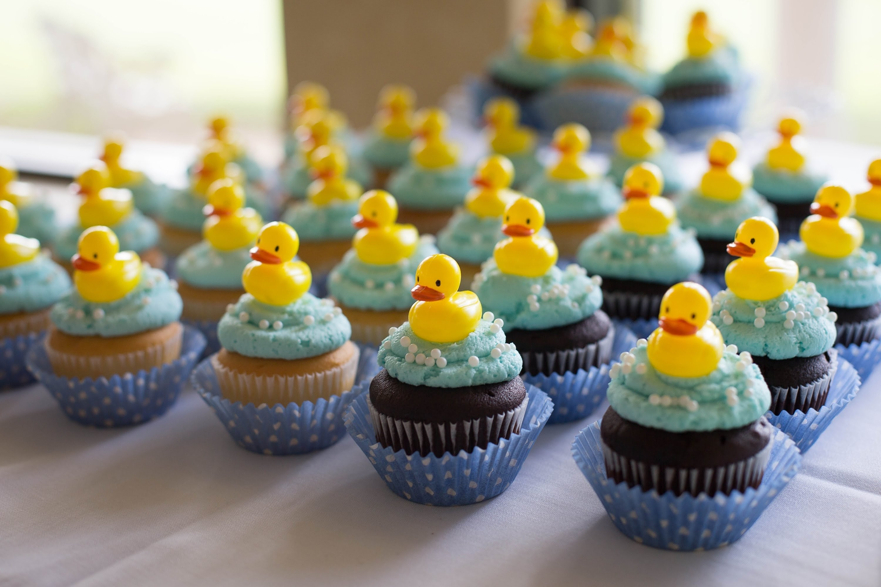creative rubber duckie baby shower ideas - youtube