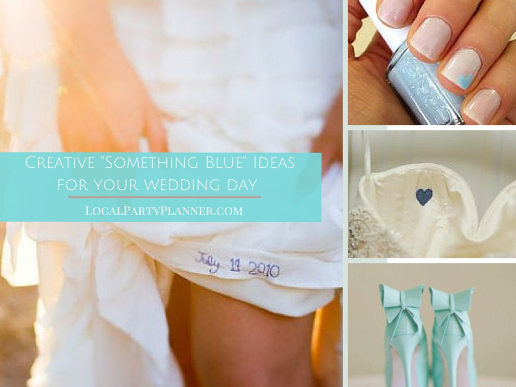 10 Fabulous Something Borrowed Ideas For Bride creative something blue ideas for your wedding localpartyplanner 2020
