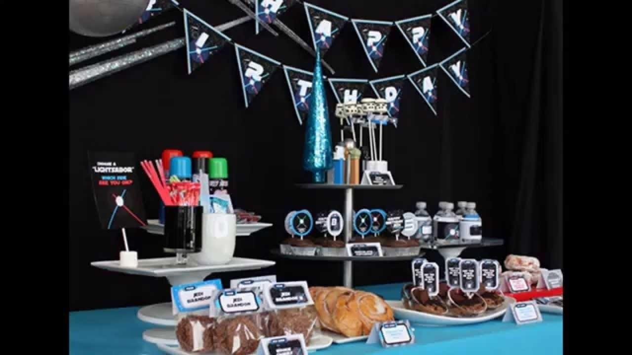 10 Lovely Star Wars Birthday Party Ideas creative star wars birthday party decorations youtube 2020