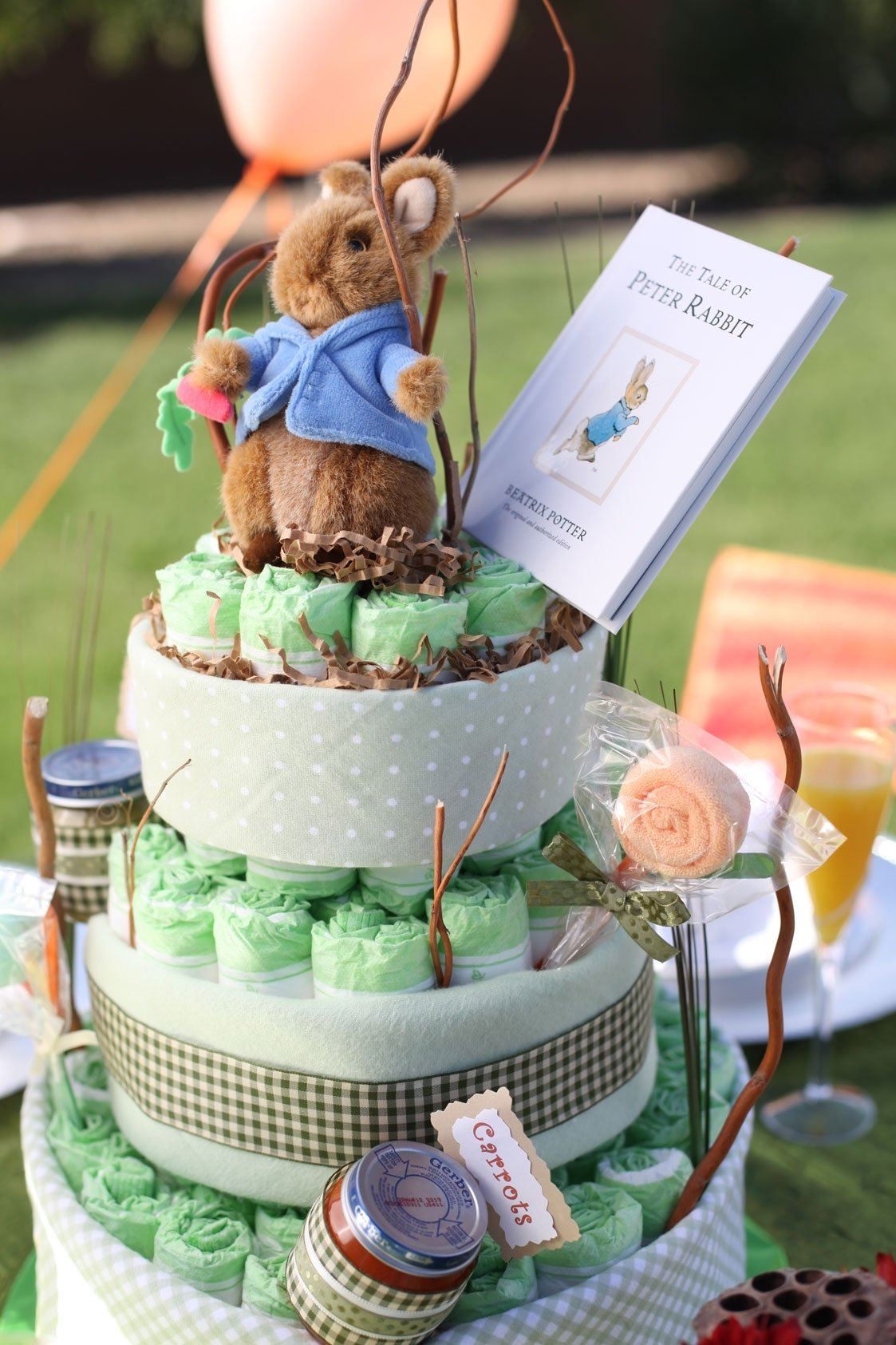 creative unisex baby shower themes peter rabbit | inspiration baby s