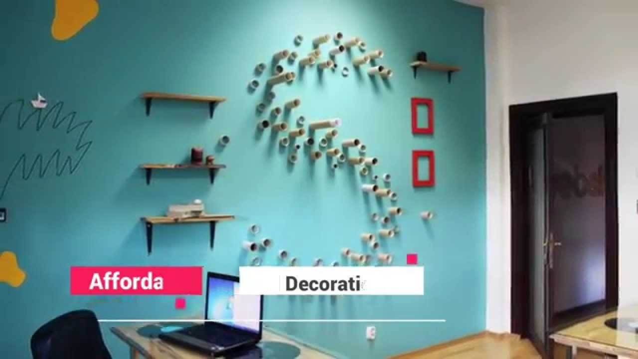 creative ways to decorate your bedroom walls - youtube