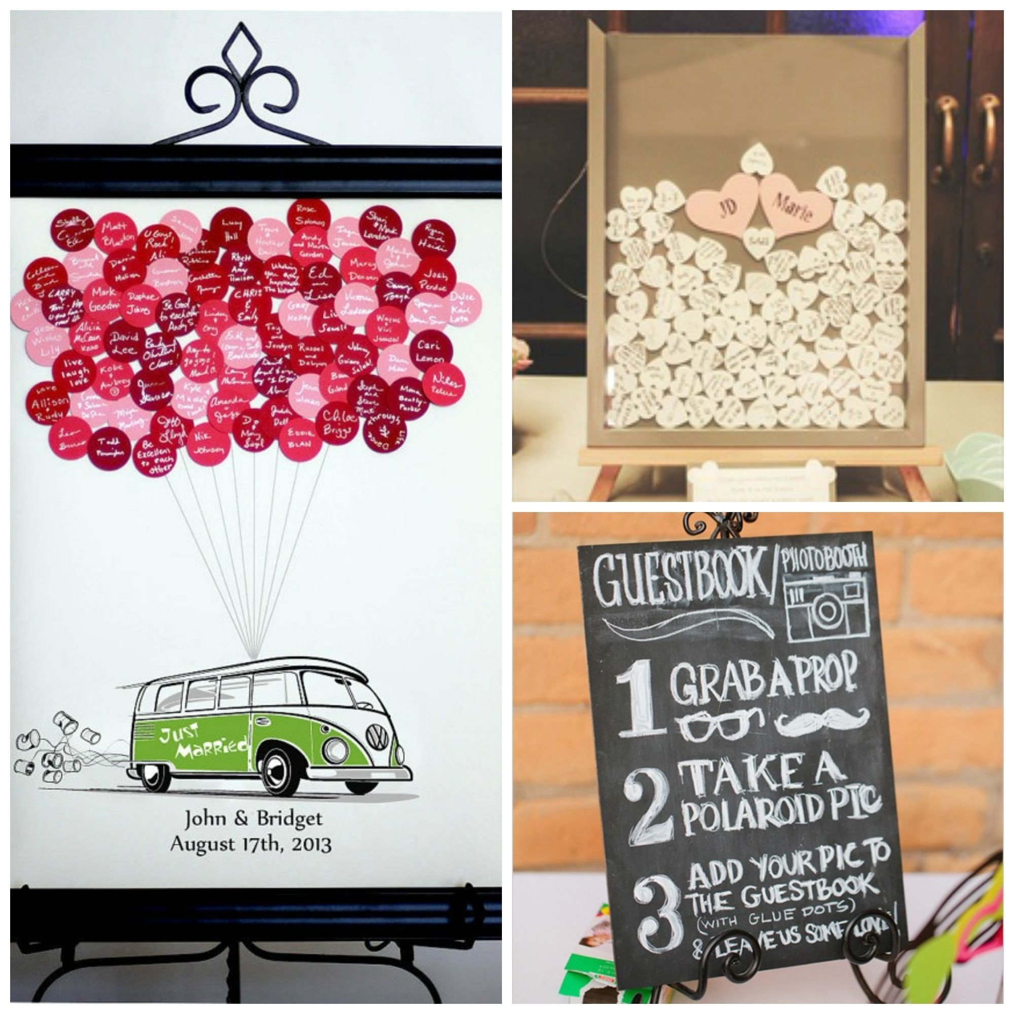 10 Lovely Ideas For Wedding Guest Book creative wedding guest book ideas amazing ideas1 pinterest guestbook 2020