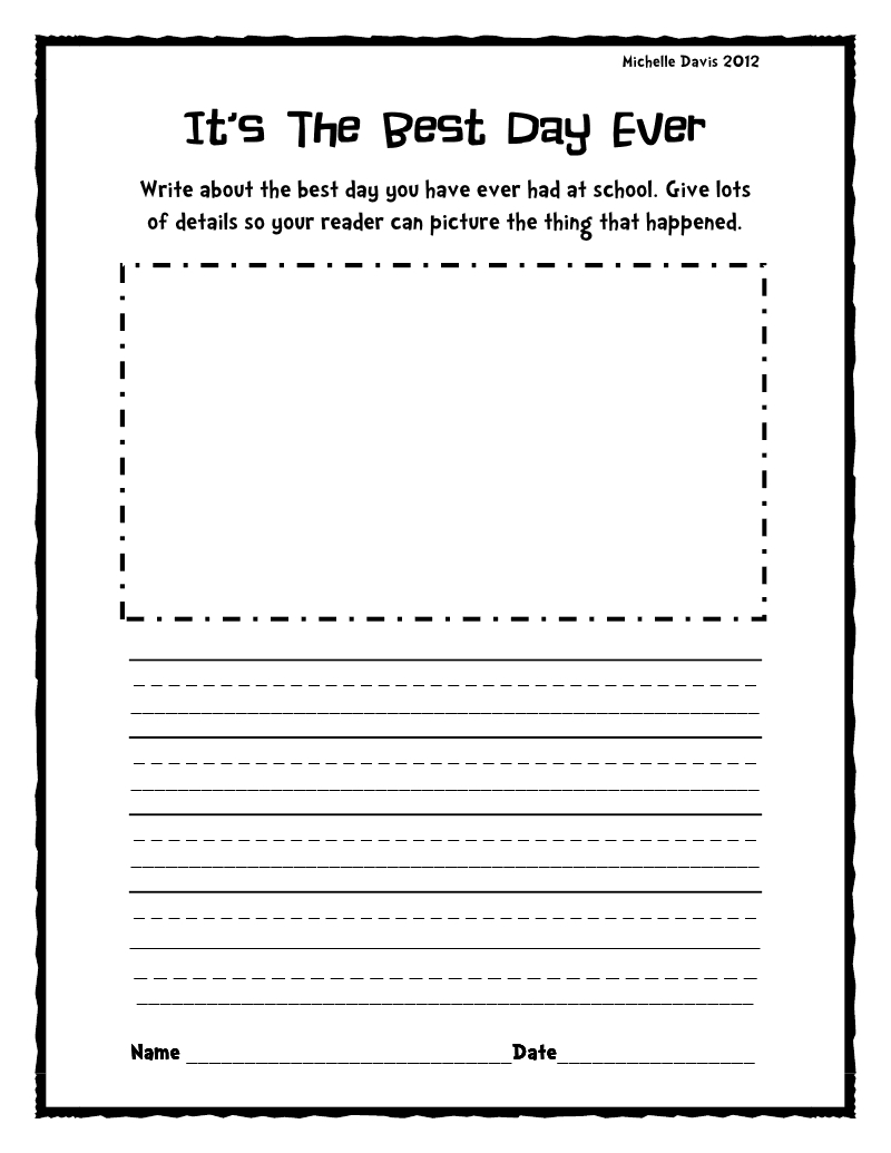 creative writing prompts 1st grade cover letter of interest template