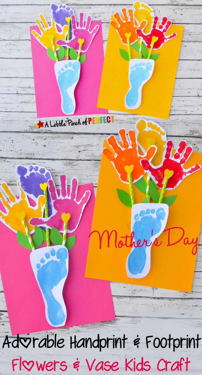 creatively thoughtful mother's day gift ideas | footprints, forget