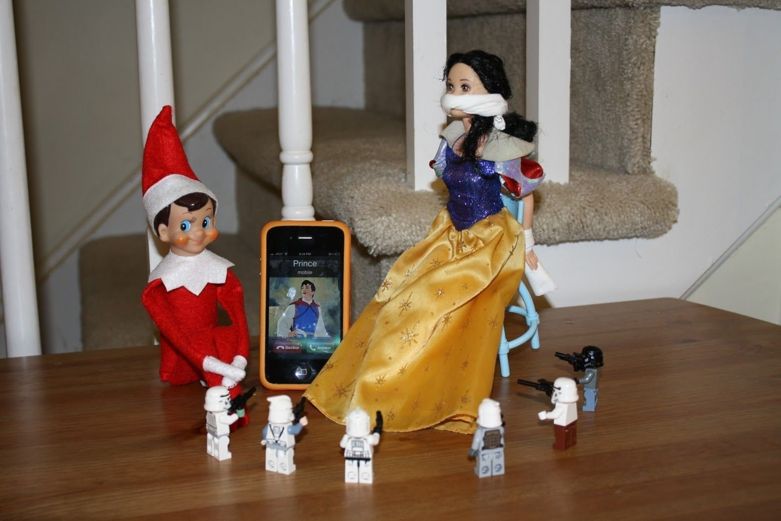 10 Stylish Dirty Elf On The Shelf Ideas creepy elf snow white kidnapped christmaslandon benderelf 2020
