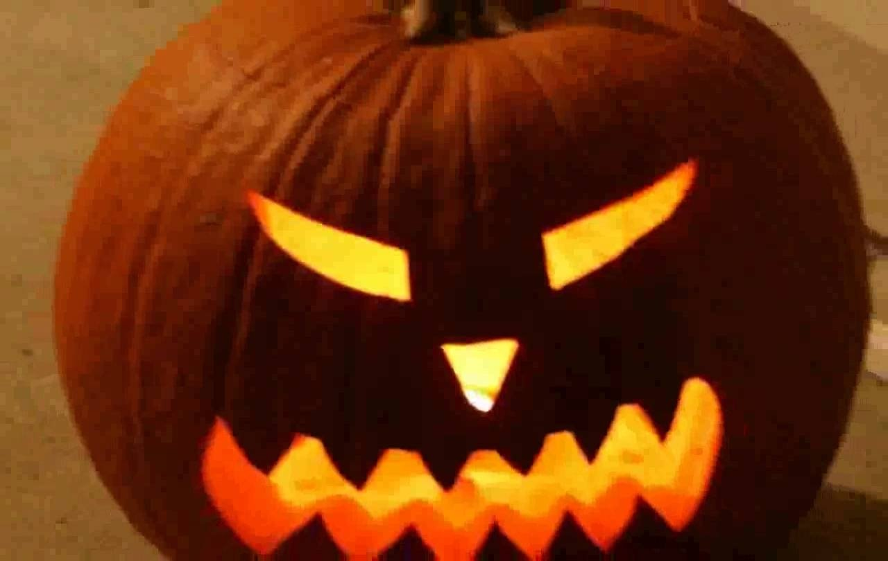 10 Stunning Jack O Lantern Faces Ideas creepy halloween jack o lantern images youtube 1 2020