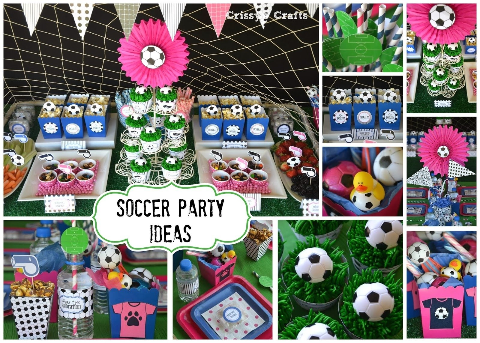 crissy's crafts: end of the season soccer party