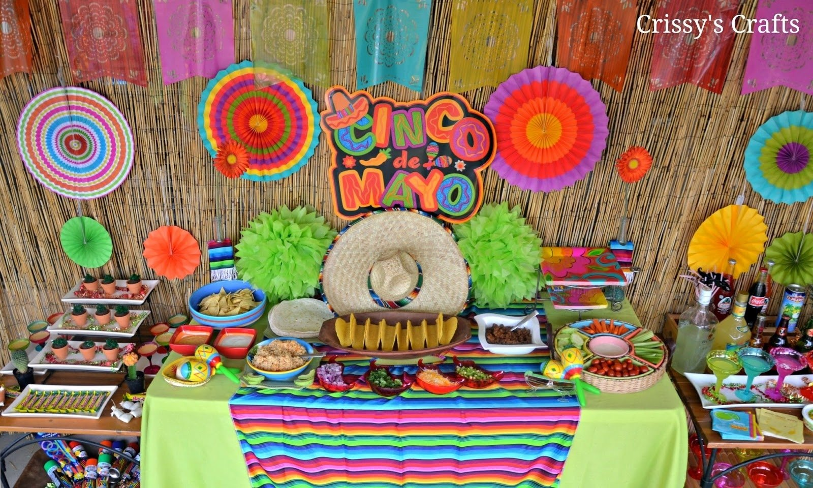 10 Great 5 De Mayo Party Ideas crissys crafts fiesta party cinco de mayo 1 2021