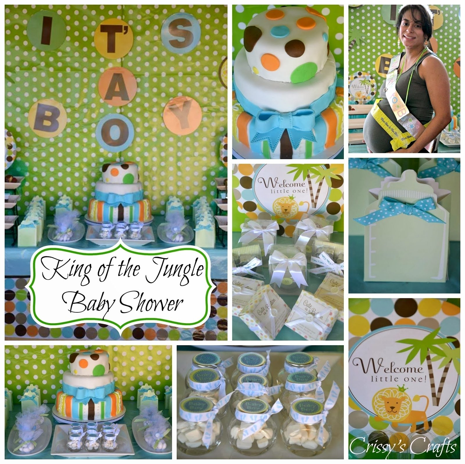 10 Best King Of The Jungle Baby Shower Ideas crissys crafts king of the jungle baby shower 2020