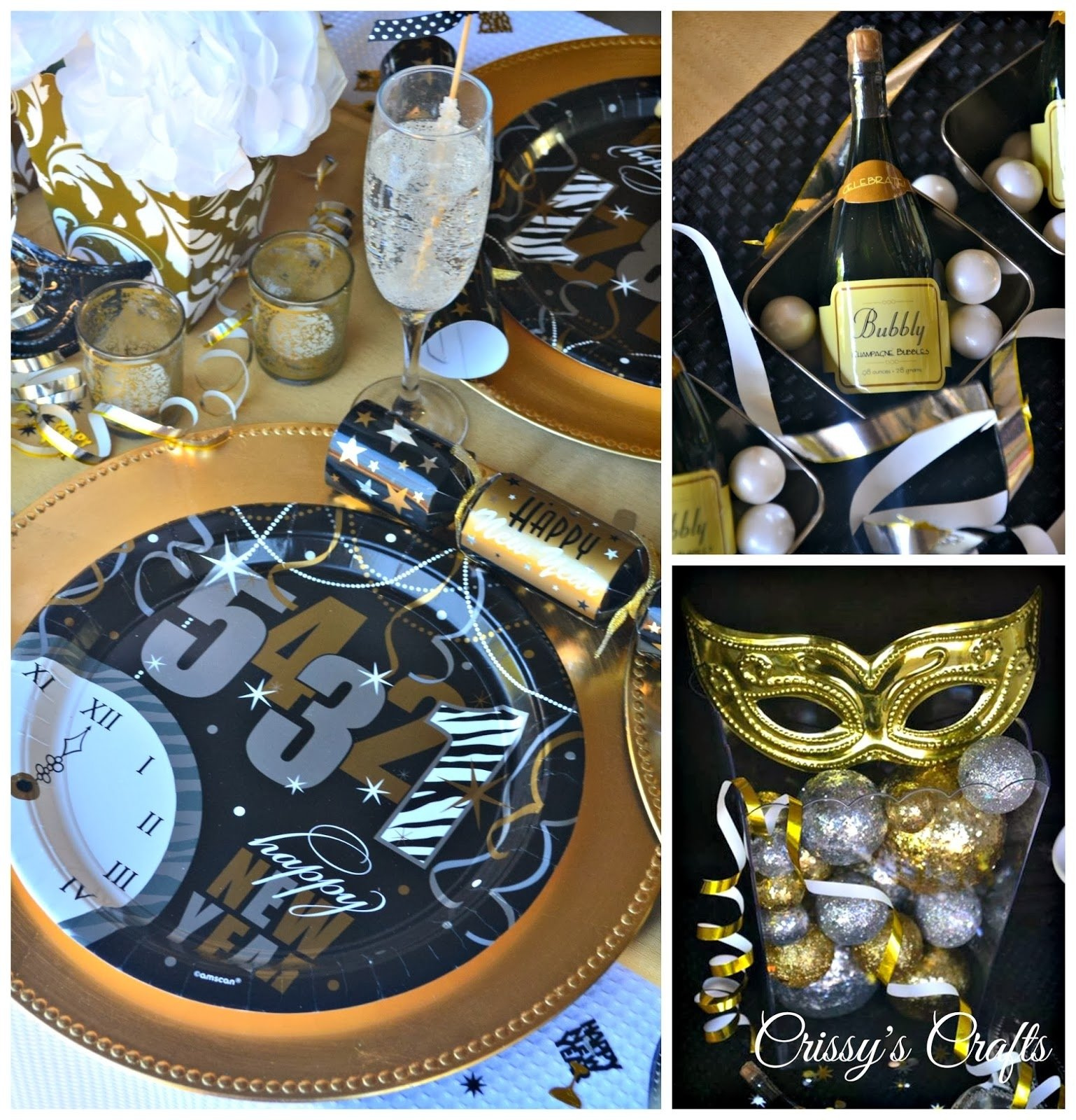 10 Fashionable New Years Eve Party Ideas 2013 crissys crafts new years eve party ideas 1 2021