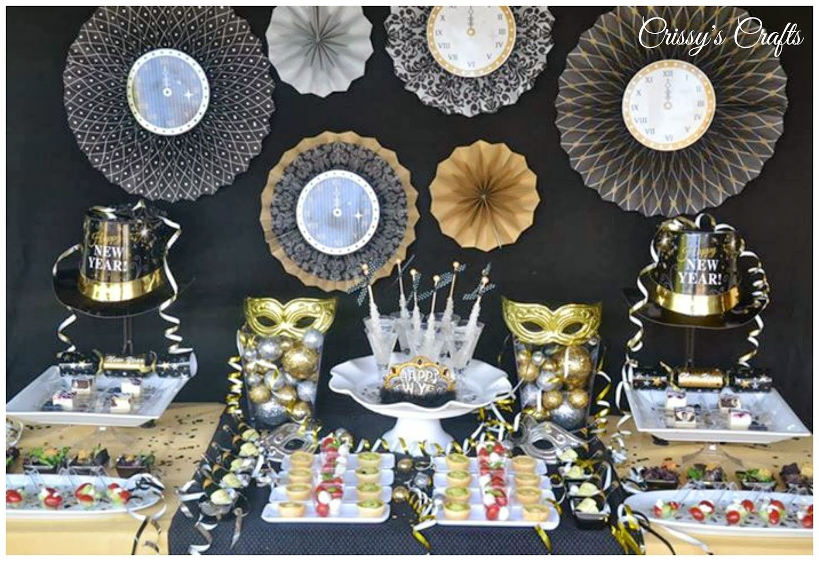 10 Fashionable New Years Eve Party Ideas 2013 crissys crafts new years eve party ideas 2021