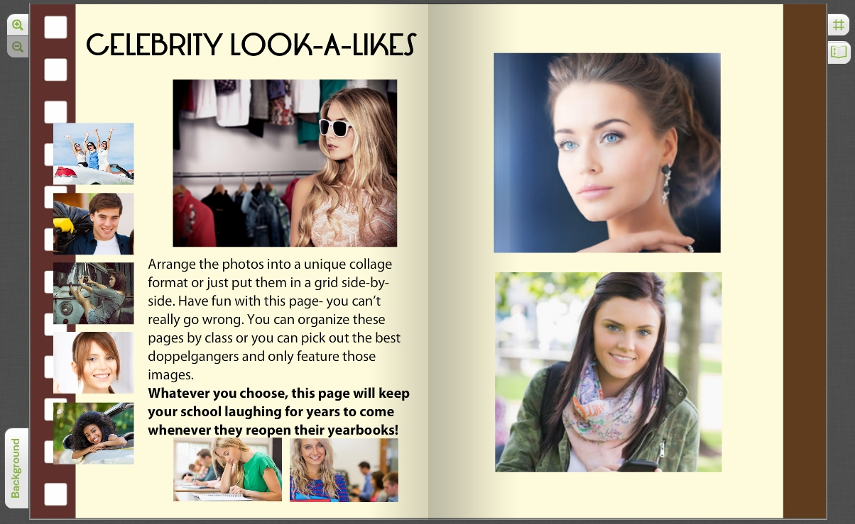 10 Gorgeous Yearbook Page Ideas For High School crowdsourced yearbook pages with custom student photos treering blog 2020