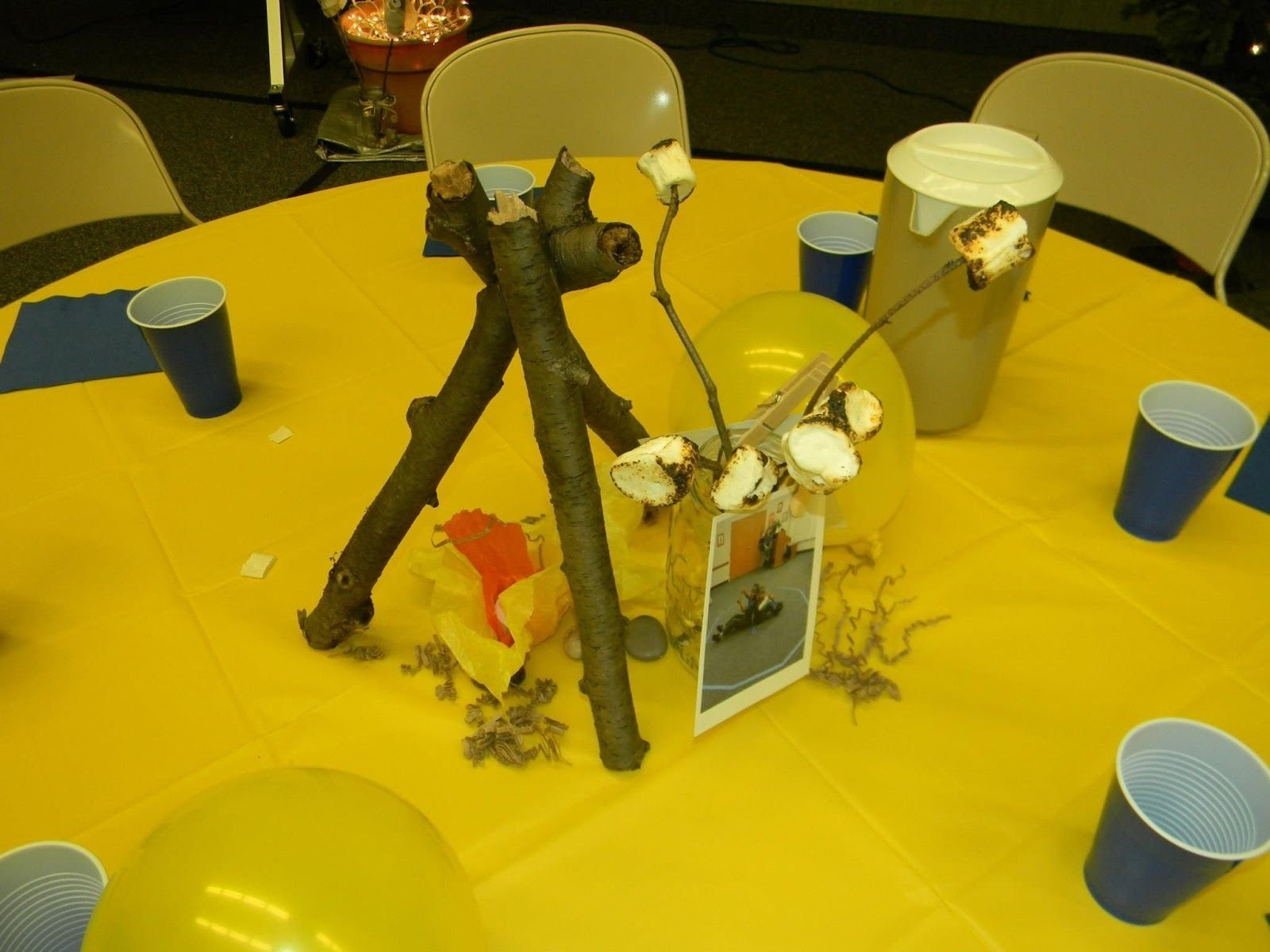 10 Fantastic Cub Scout Blue And Gold Ideas cub scout centerpiece ideas the wolf and bear dens displayed their