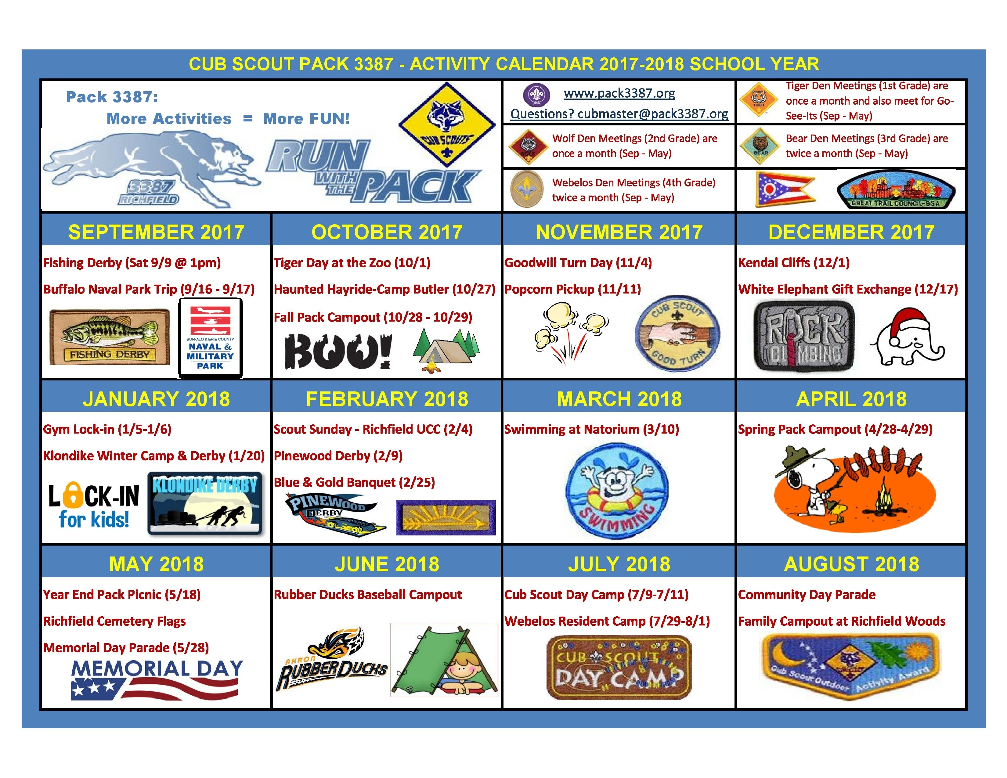 10 Stunning Cub Scout Den Meeting Ideas cub scout pack 3387 richfield oh 44286 2020