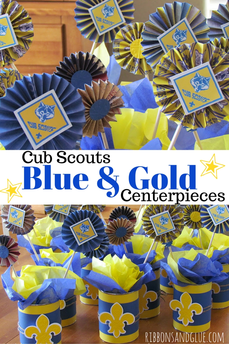 10 Stylish Cub Scout Blue And Gold Banquet Ideas cub scouts blue and gold banquet centerpieces 2020