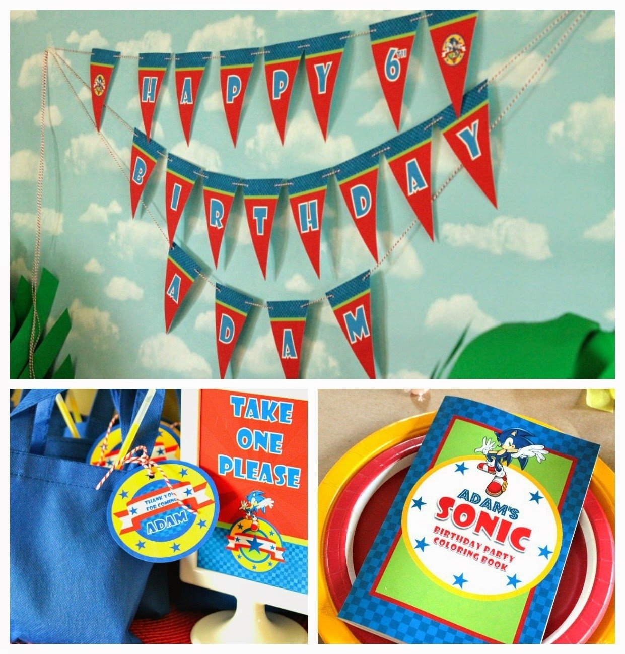 10 Great Sonic The Hedgehog Birthday Party Ideas cupcake wishes birthday dreams real parties adams sonic the 1 2021