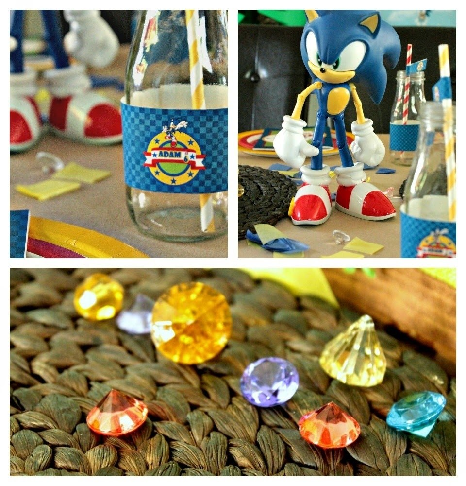 10 Great Sonic The Hedgehog Birthday Party Ideas cupcake wishes birthday dreams real parties adams sonic the 2021