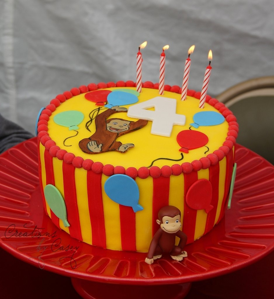 10 Famous Curious George Birthday Cake Ideas curious george birthday cake curious george birthday curious 2021