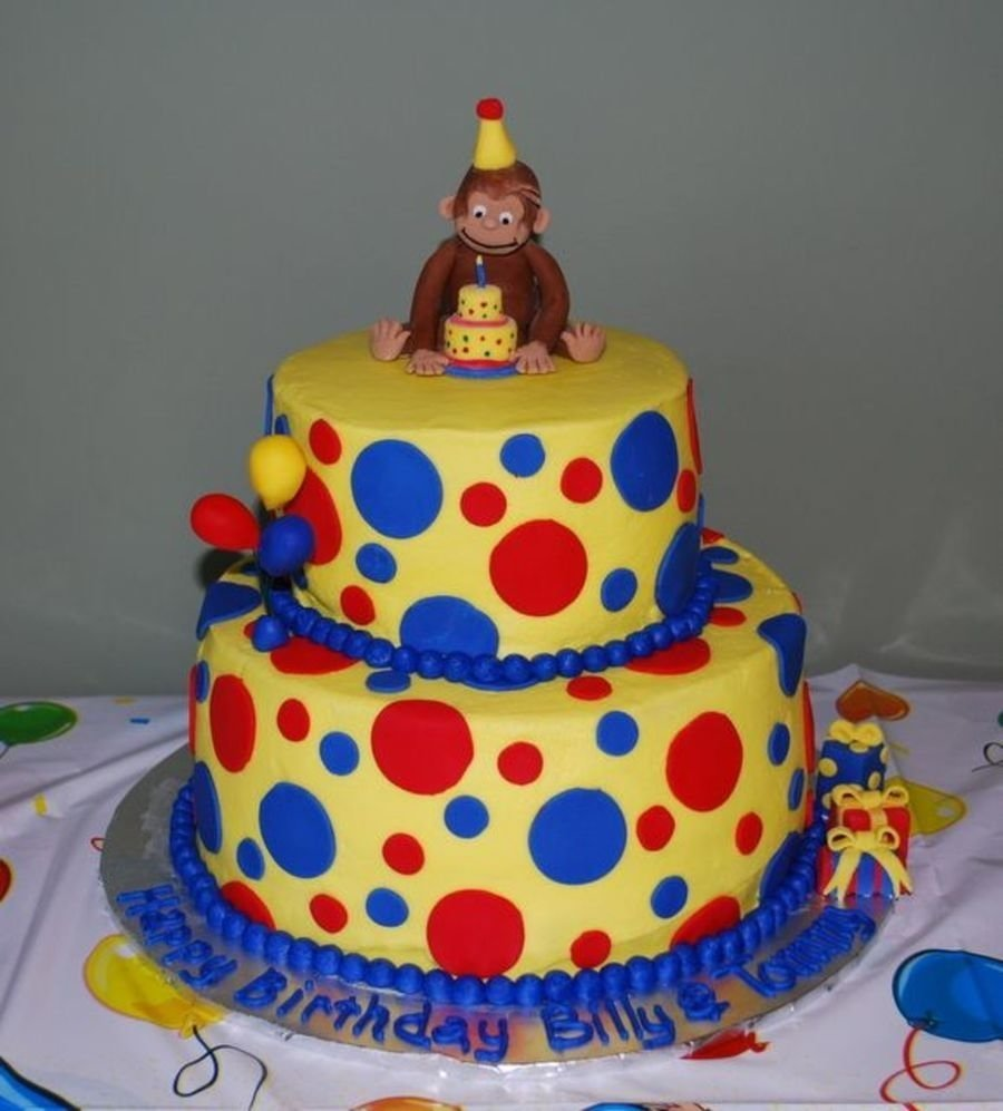 10 Famous Curious George Birthday Cake Ideas curious george birthday cake on cake central oakley s first 2021