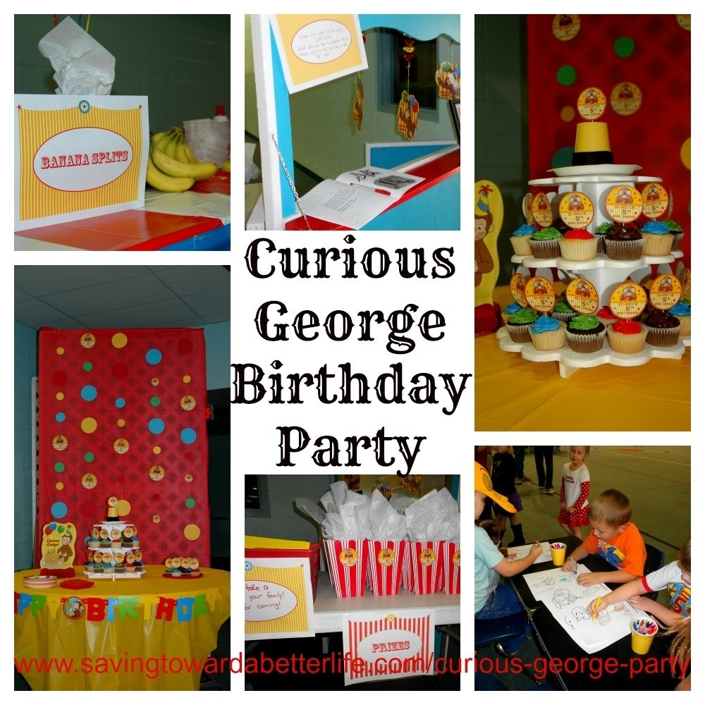 10 Awesome Curious George Party Favor Ideas curious george birthday party ideas food favors more saving 2020