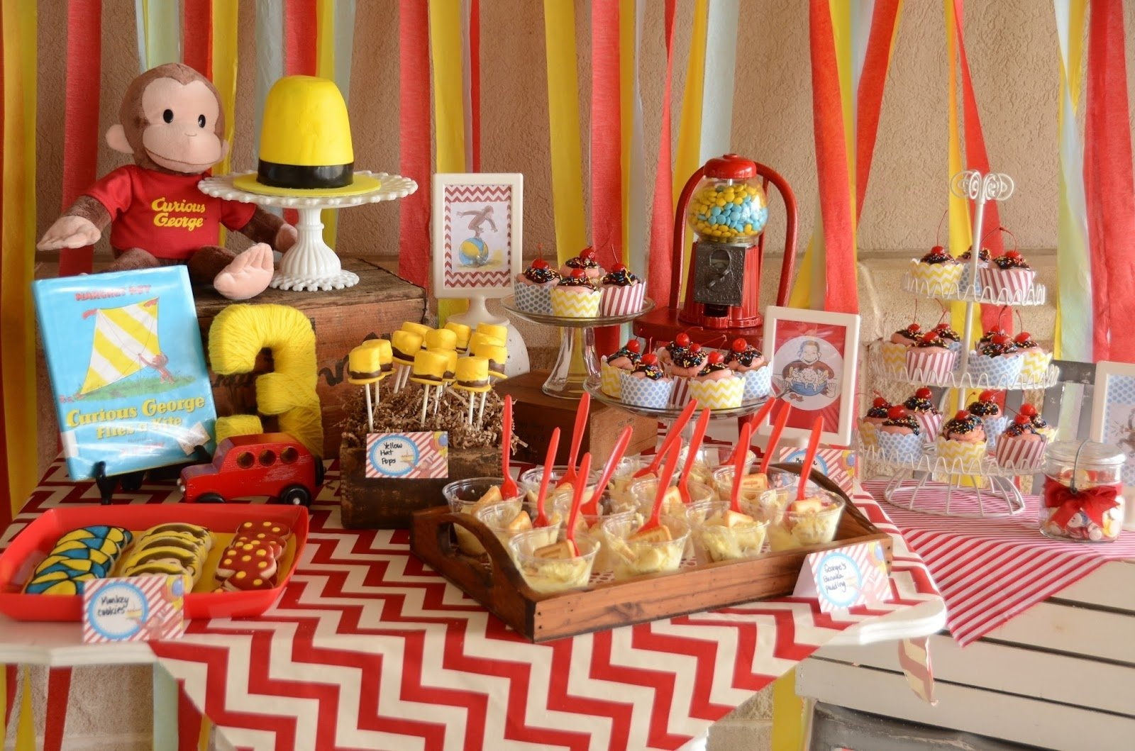 10 Fashionable Curious George Birthday Party Ideas curious george birthday party ideas for great impression 2020