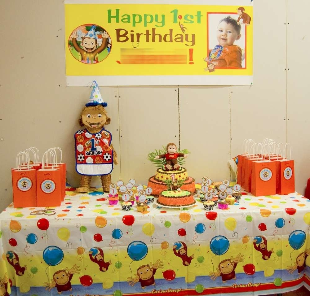 10 Fashionable Curious George Birthday Party Ideas curious george birthday party ideas photo 5 of 12 catch my party 2020