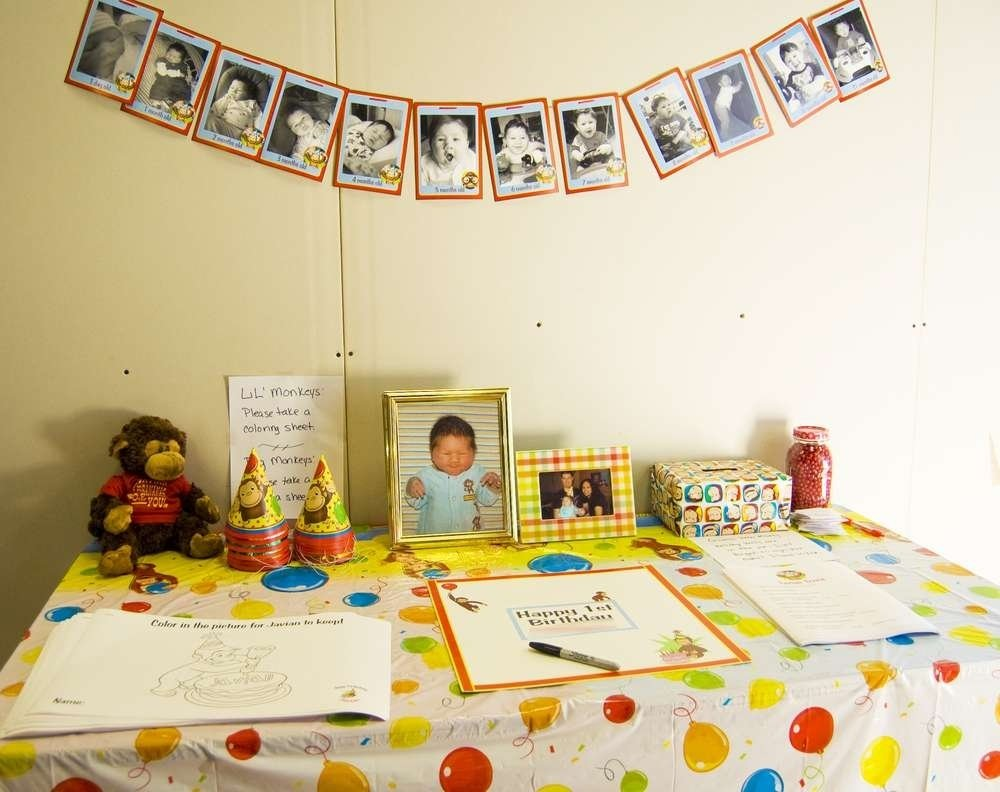 10 Fashionable Curious George Birthday Party Ideas curious george birthday party ideas photo 7 of 12 catch my party 2020