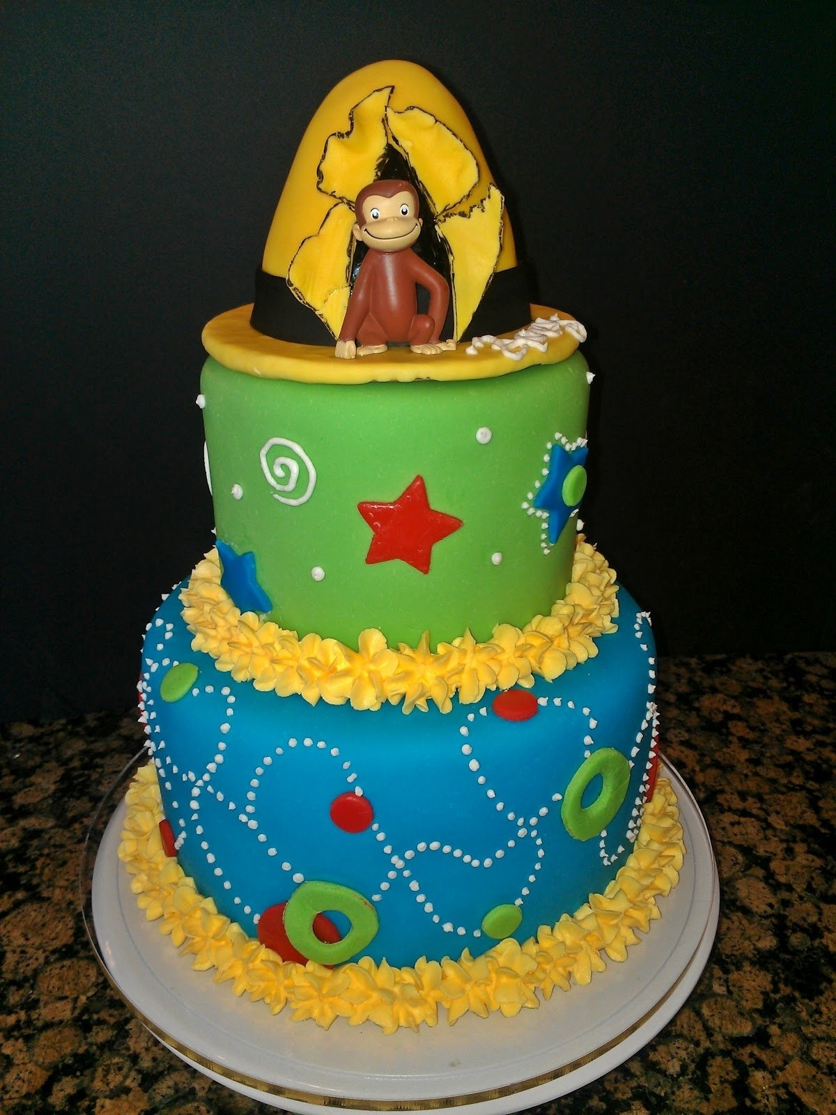 10 Famous Curious George Birthday Cake Ideas curious george cakes decoration ideas little birthday cakes 2021