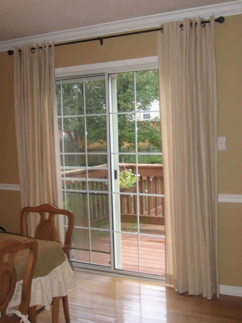 10 Beautiful Ideas For Sliding Glass Doors curtain patio door curtain ideas patio door coverings sliding 2020