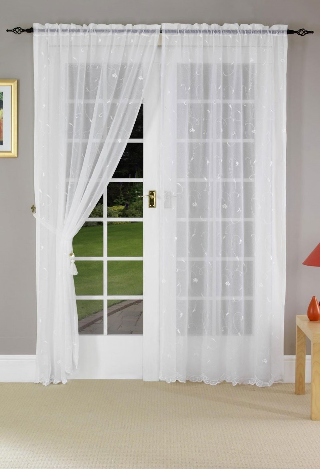 curtains ~ curtain french door curtains walmart window treatment for