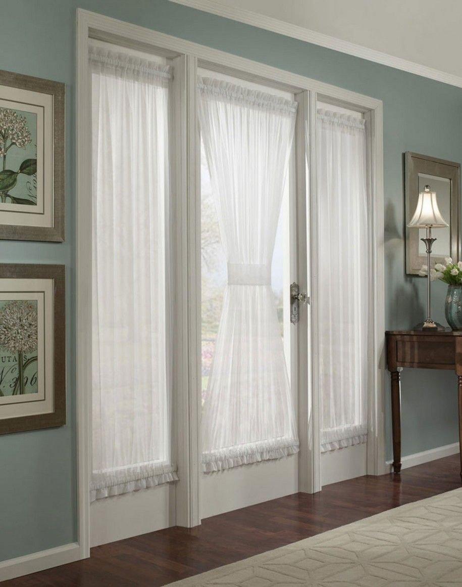 10 Elegant Window Treatment Ideas For French Doors curtains for french doors ideas also love this style door leading 2020