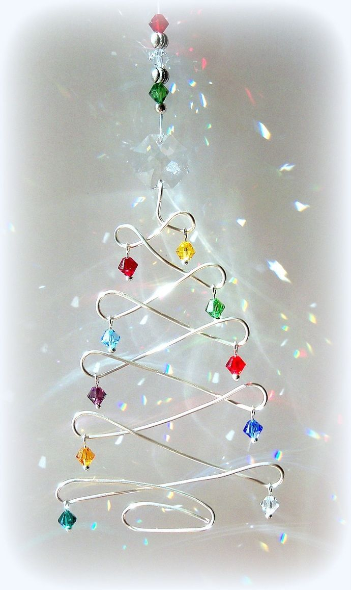10 Attractive Ideas For Christmas Decorations To Make custom order for tb sun catcher christmas tree fun christmas