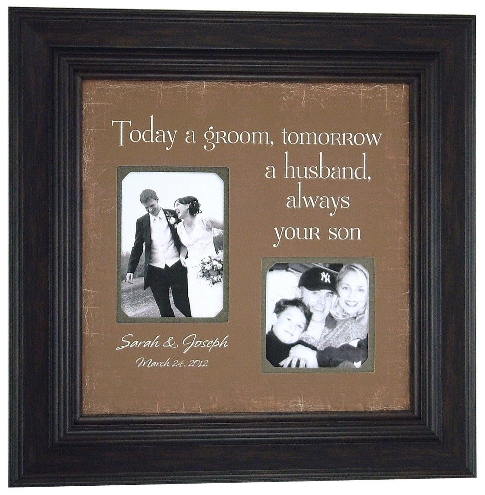 10 Pretty Bride Gift Ideas From Groom custom wedding frame mother of the bride gifts personalized 3 2021