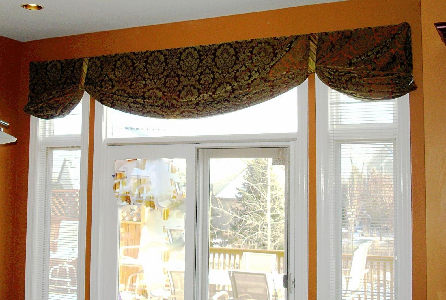 custom window valance ideas ( large window valance ideas #6