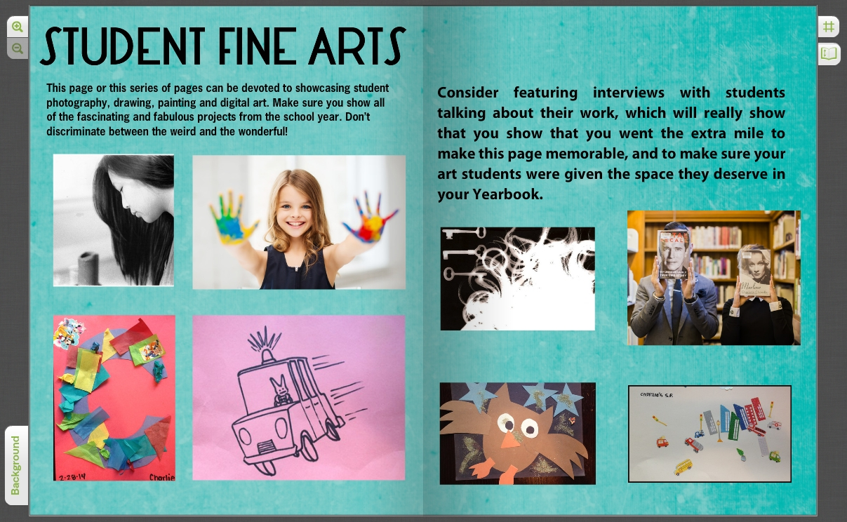 10 Gorgeous Yearbook Page Ideas For High School custom yearbook ideas for elementary middle school treering blog 3 2020